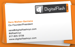Digital Flash NYC Business Cards