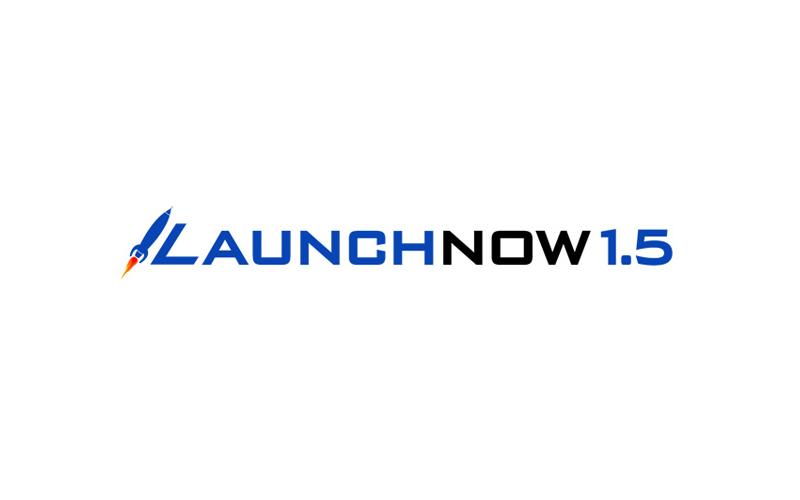 LaunchNow 1.5 Logo design