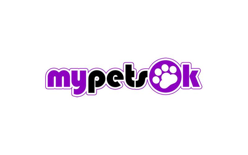 My Pets OK Logo design