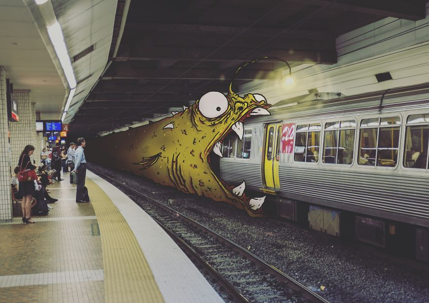 TailJar: I Add Monsters To Everyday Life To Make It More Fun
