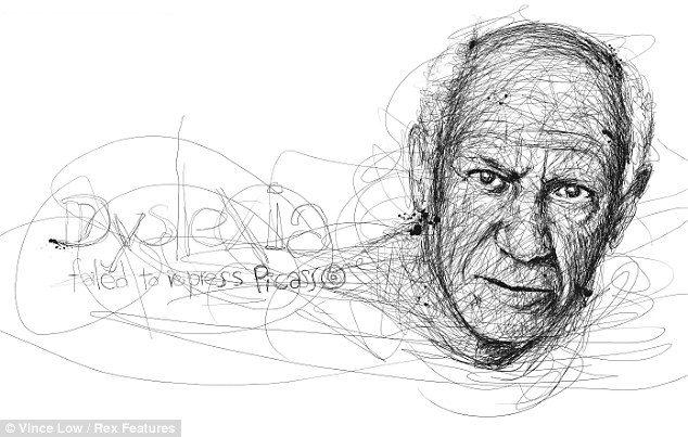 19 portraits of famous dyslexics…