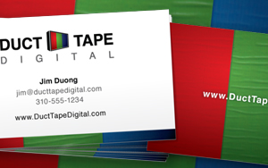 Duct Tape Digital Business Cards
