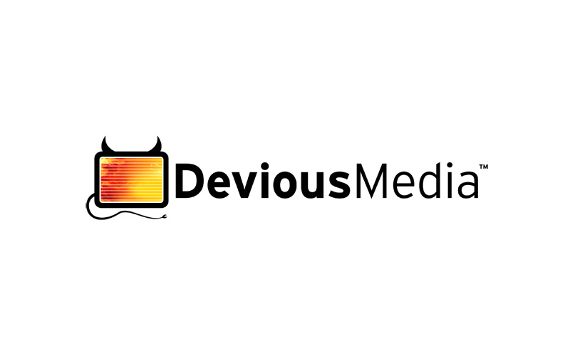 Devious Media Logo design