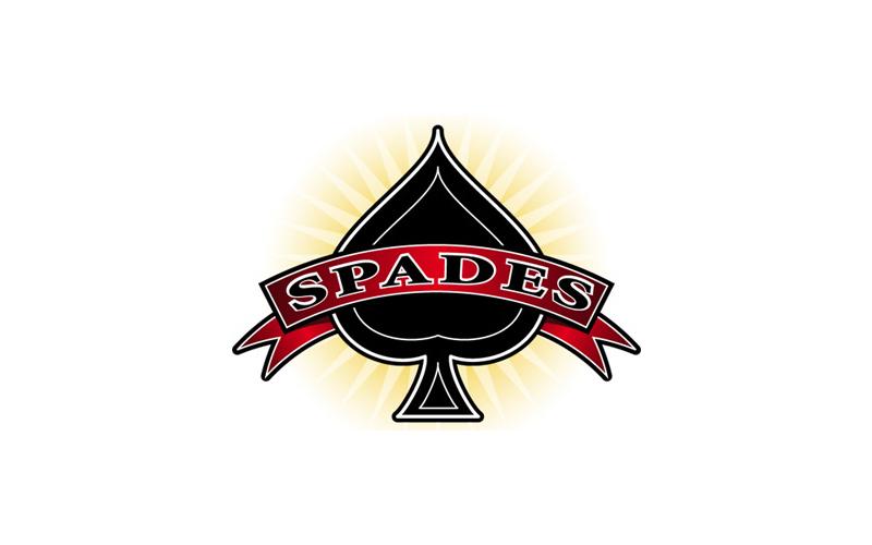 Spades Game Logo design