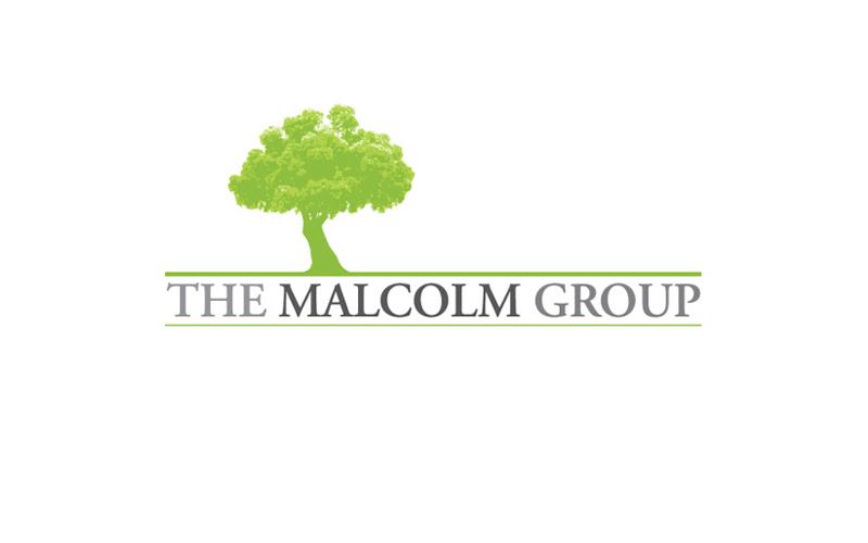 The Malcom Group Logo design