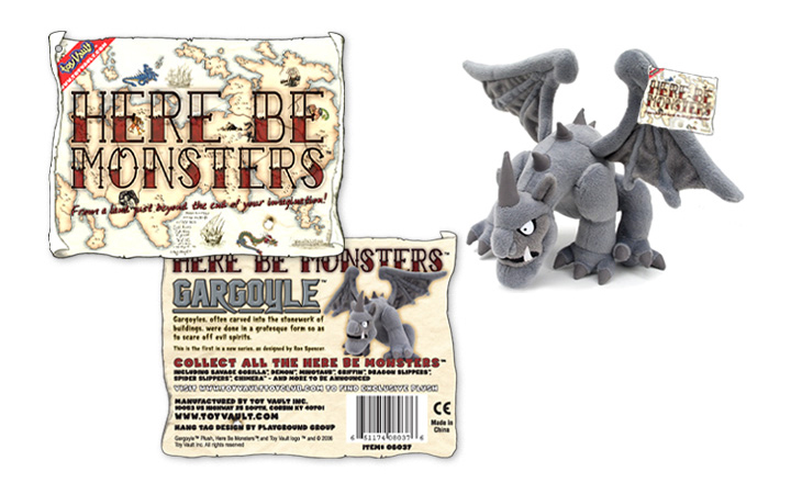 "Toy Vault ""Gargoyle"" Packaging"