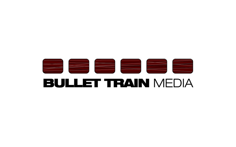Bullet Train Media Logo design