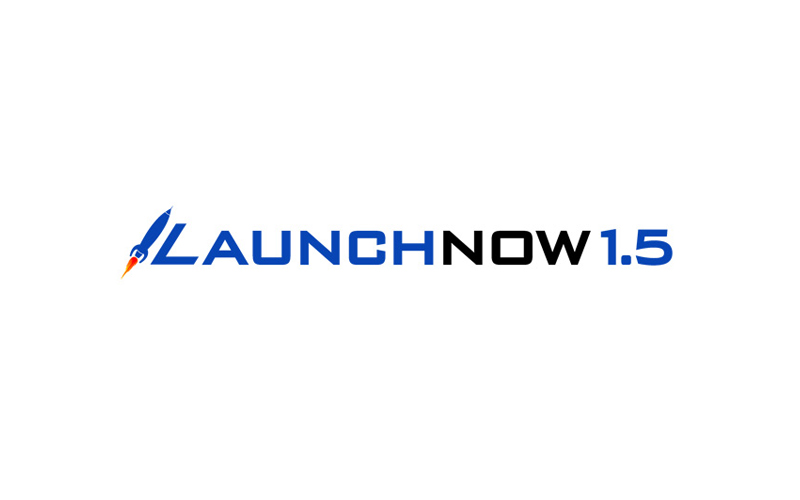 LaunchNow 1.5 Logo design