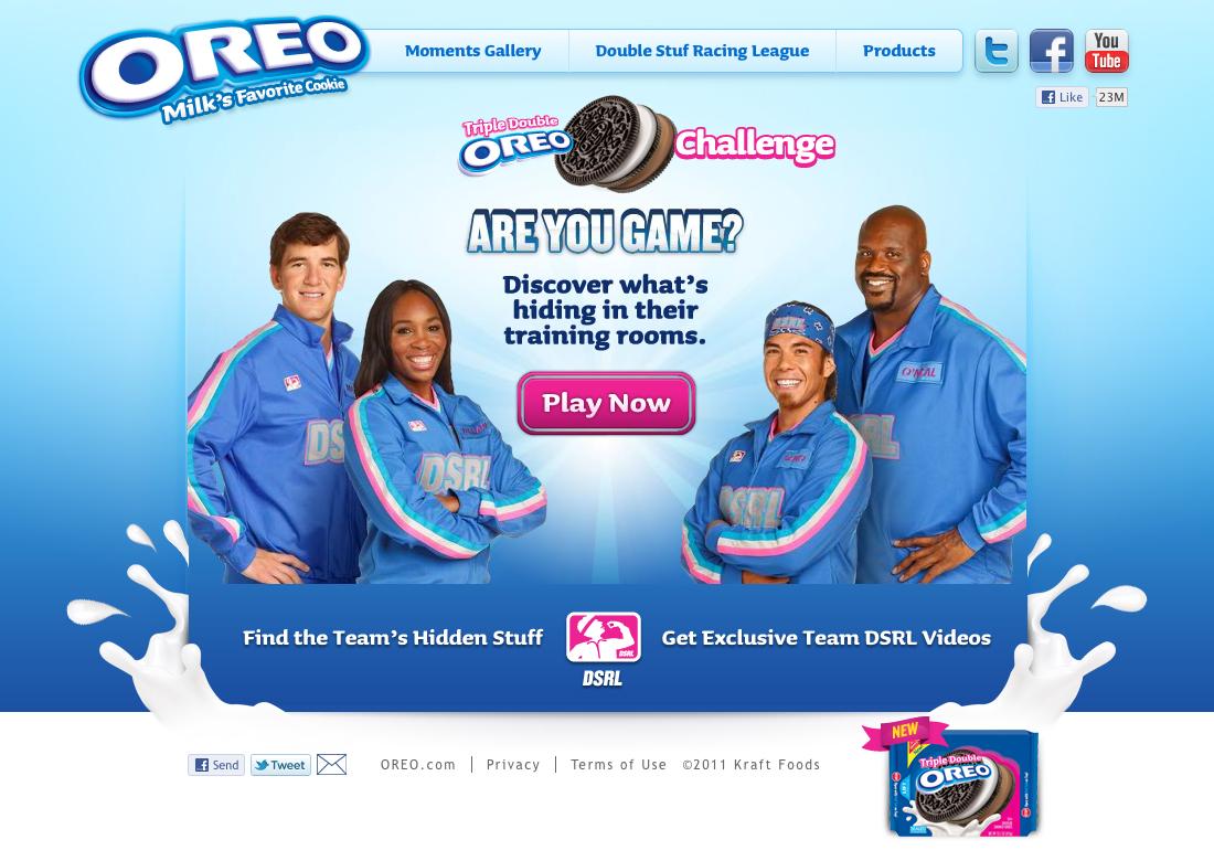 Oreo DSRL Challenge