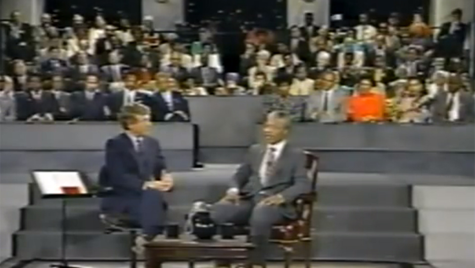 Town Hall meeting with Nelson Mandela (1990)