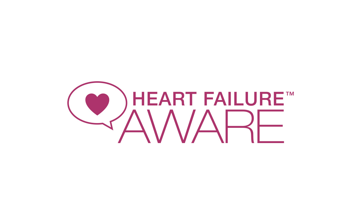 Heart Failure Aware logo design